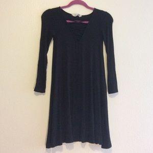 Black Long Sleeve American Eagle Dress